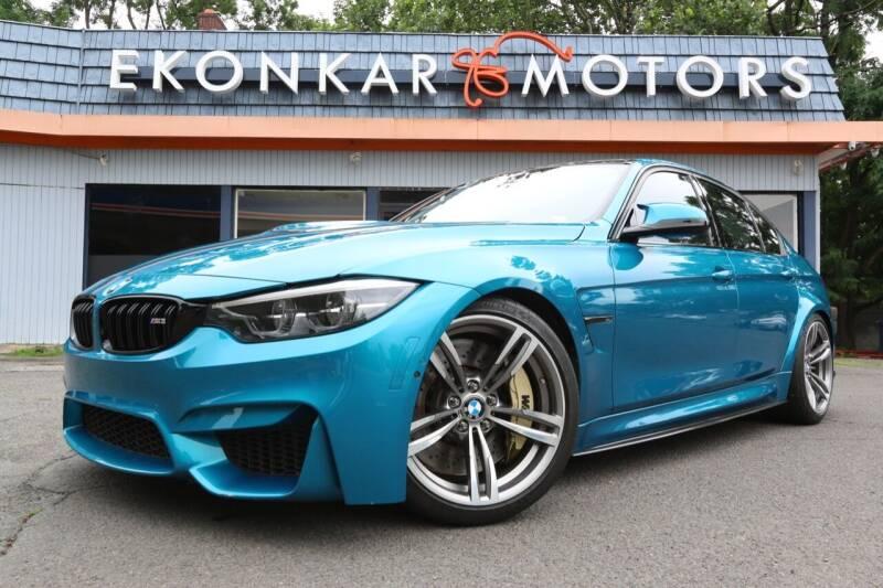 2018 BMW M3 for sale at Ekonkar Motors in Scotch Plains NJ