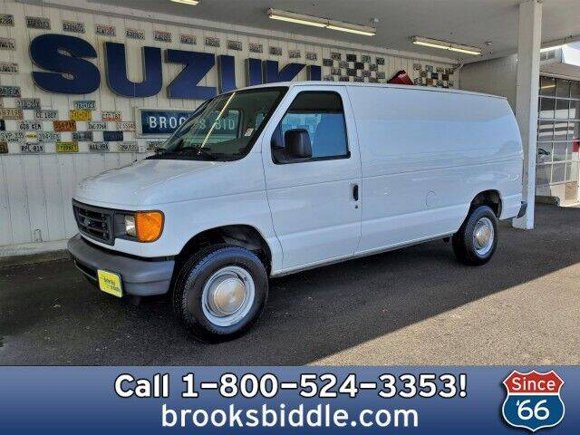2003 Ford E-Series Cargo for sale at BROOKS BIDDLE AUTOMOTIVE in Bothell WA