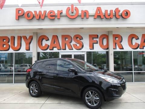 2015 Hyundai Tucson for sale at Power On Auto LLC in Monroe NC