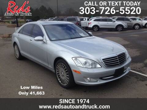 2007 Mercedes-Benz S-Class for sale at Red's Auto and Truck in Longmont CO