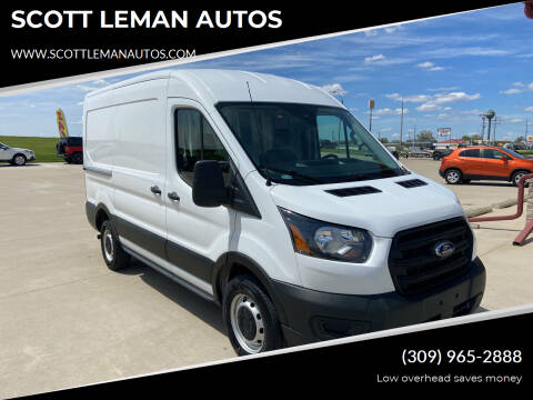 2020 Ford Transit Cargo for sale at SCOTT LEMAN AUTOS in Goodfield IL