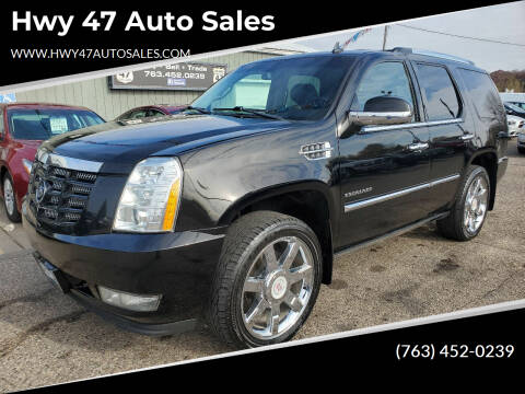 2010 Cadillac Escalade for sale at Hwy 47 Auto Sales in Saint Francis MN