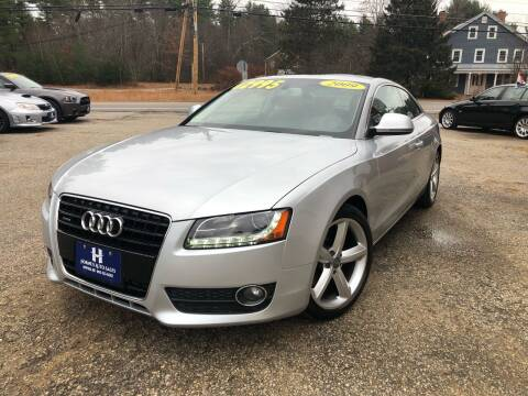2009 Audi A5 for sale at Hornes Auto Sales LLC in Epping NH