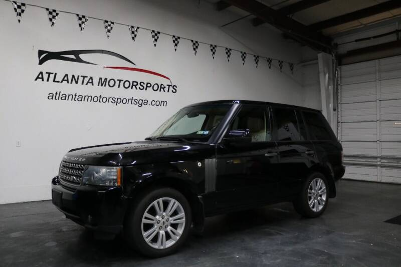 2010 Land Rover Range Rover for sale at Atlanta Motorsports in Roswell GA