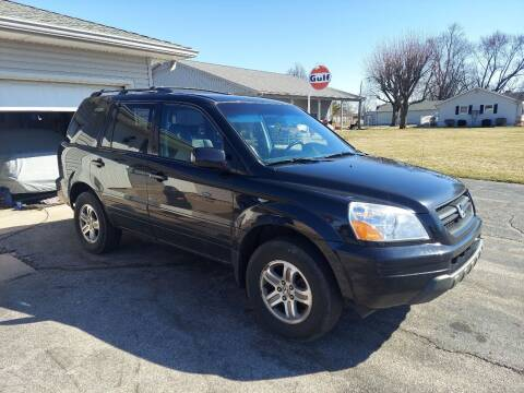 2003 Honda Pilot for sale at CALDERONE CAR & TRUCK in Whiteland IN