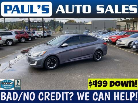 2016 Hyundai Accent for sale at Paul's Auto Sales in Eugene OR
