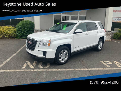 2016 GMC Terrain for sale at Keystone Used Auto Sales in Brodheadsville PA
