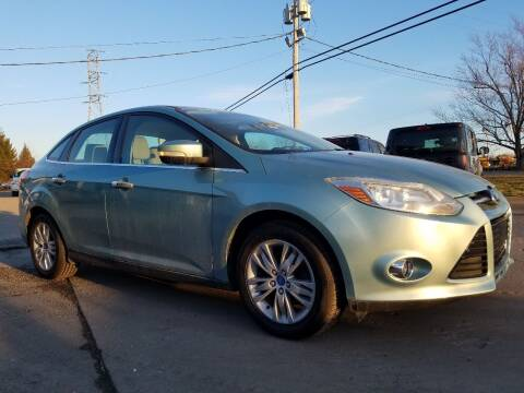 2012 Ford Focus for sale at CarNation Auto Group in Alliance OH