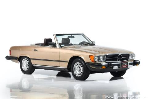 1982 Mercedes-Benz 380-Class for sale at Motorcar Classics in Farmingdale NY