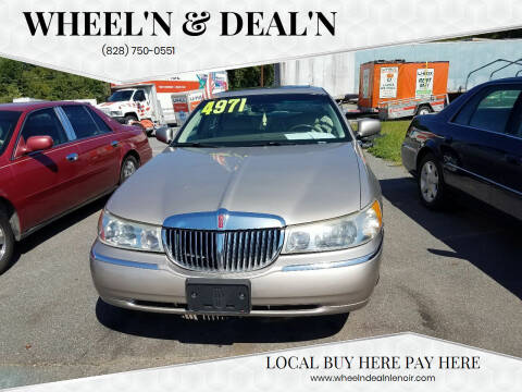 1999 Lincoln Town Car for sale at Wheel'n & Deal'n in Lenoir NC