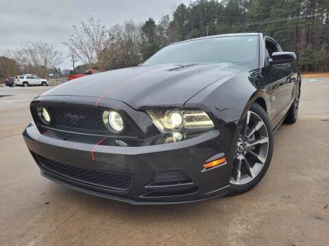 2014 Ford Mustang for sale at Gwinnett Luxury Motors in Buford GA