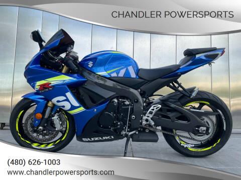 2017 Suzuki GSX-R 750 for sale at Chandler Powersports in Chandler AZ