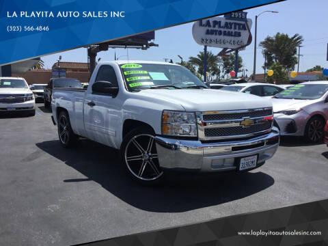 2012 Chevrolet Silverado 1500 for sale at 2955 FIRESTONE BLVD in South Gate CA