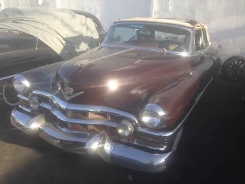 1952 Cadillac Eldorado for sale at Frank Corrente Cadillac Corner in Los Angeles CA