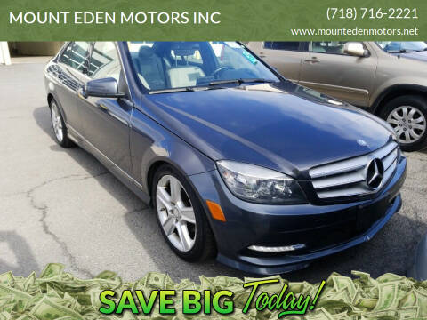 2011 Mercedes-Benz C-Class for sale at MOUNT EDEN MOTORS INC in Bronx NY
