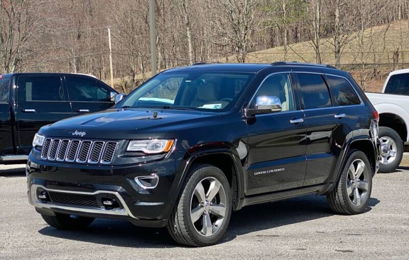 2016 Jeep Grand Cherokee for sale at Griffith Auto Sales in Home PA