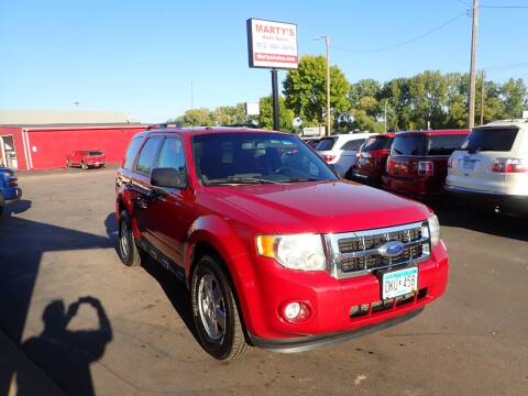 2011 Ford Escape for sale at Marty's Auto Sales in Savage MN