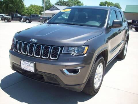 2018 Jeep Grand Cherokee for sale at Nemaha Valley Motors in Seneca KS