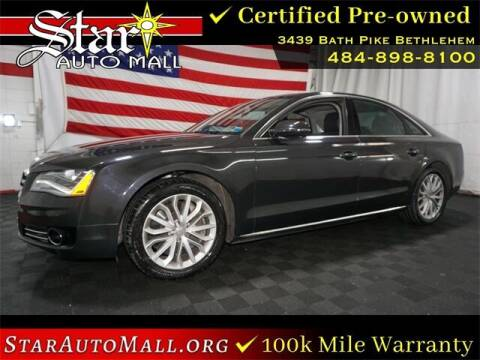 2011 Audi A8 for sale at STAR AUTO MALL 512 in Bethlehem PA