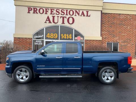 2016 Chevrolet Silverado 1500 for sale at Professional Auto Sales & Service in Fort Wayne IN