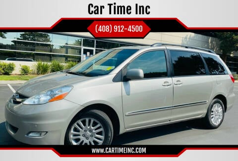 2009 Toyota Sienna for sale at Car Time Inc in San Jose CA