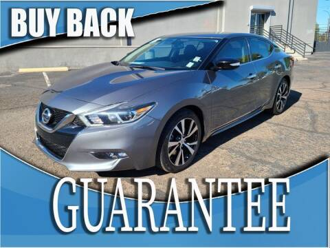 2018 Nissan Maxima for sale at Reliable Auto Sales in Las Vegas NV