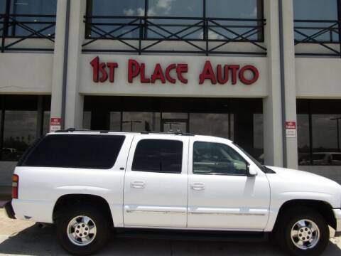 2002 Chevrolet Suburban for sale at First Place Auto Ctr Inc in Watauga TX