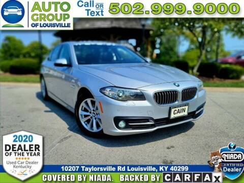 2015 BMW 5 Series for sale at Auto Group of Louisville in Louisville KY