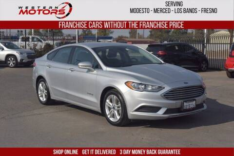 2018 Ford Fusion Hybrid for sale at Choice Motors in Merced CA