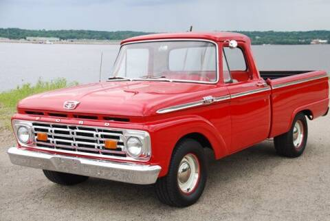 1964 Ford F-100 for sale at Uftring Classic Cars in East Peoria IL