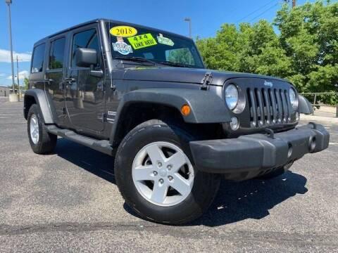 2018 Jeep Wrangler JK Unlimited for sale at UNITED Automotive in Denver CO