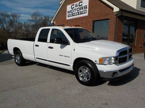2003 Dodge Ram Pickup 3500 for sale at C & C MOTORS in Chattanooga TN