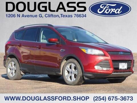 2014 Ford Escape for sale at Douglass Automotive Group - Douglas Ford in Clifton TX