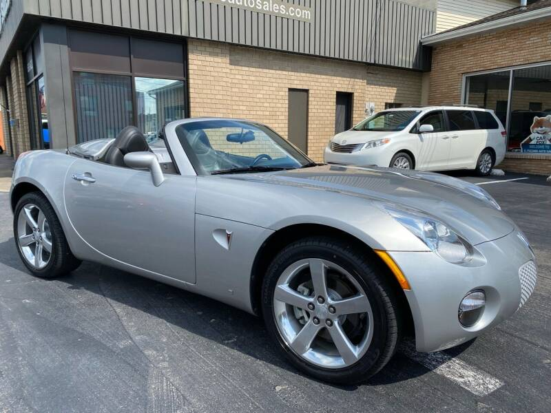 2007 Pontiac Solstice for sale at C Pizzano Auto Sales in Wyoming PA