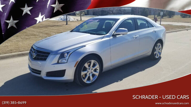2014 Cadillac ATS for sale at Schrader - Used Cars in Mount Pleasant IA