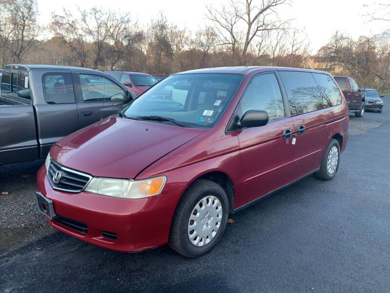 2004 Honda Odyssey for sale at Trocci's Auto Sales in West Pittsburg PA
