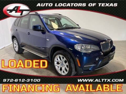 2013 BMW X5 for sale at AUTO LOCATORS OF TEXAS in Plano TX
