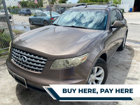 2004 Infiniti FX35 for sale at Best Auto Deal N Drive in Hollywood FL