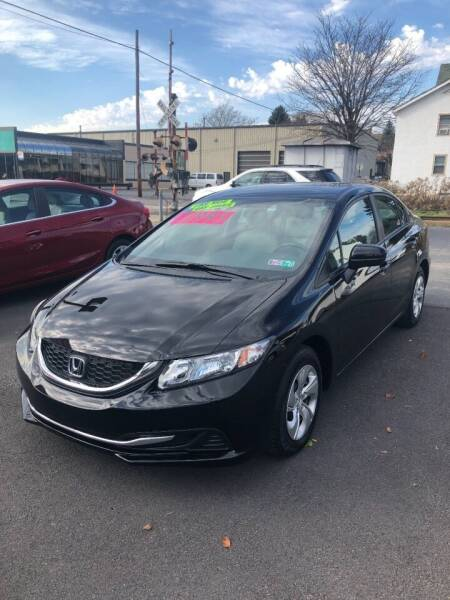 2015 Honda Civic for sale at Red Top Auto Sales in Scranton PA