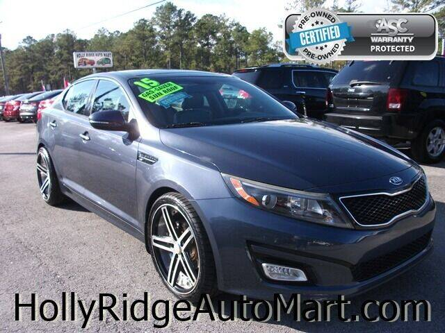 2015 Kia Optima for sale at Holly Ridge Auto Mart in Holly Ridge NC