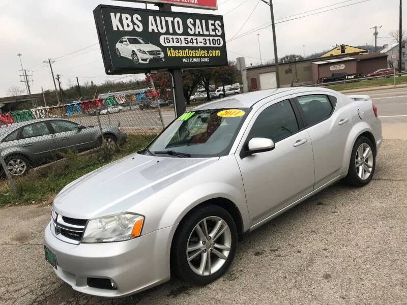 2011 Dodge Avenger for sale at KBS Auto Sales in Cincinnati OH