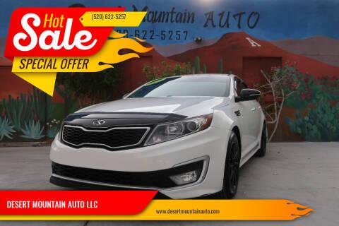 2012 Kia Optima Hybrid for sale at DESERT MOUNTAIN AUTO LLC in Tucson AZ