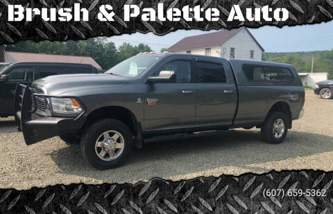2012 RAM Ram Pickup 3500 for sale at Brush & Palette Auto in Candor NY