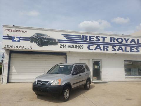 2003 Honda CR-V for sale at Best Royal Car Sales in Dallas TX
