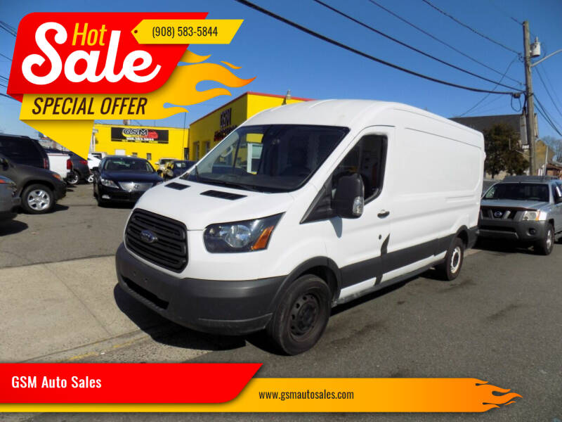 2016 Ford Transit Cargo for sale at GSM Auto Sales in Linden NJ
