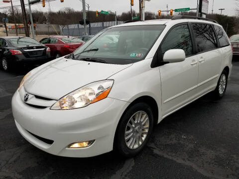 2008 Toyota Sienna for sale at Cedar Auto Group LLC in Akron OH