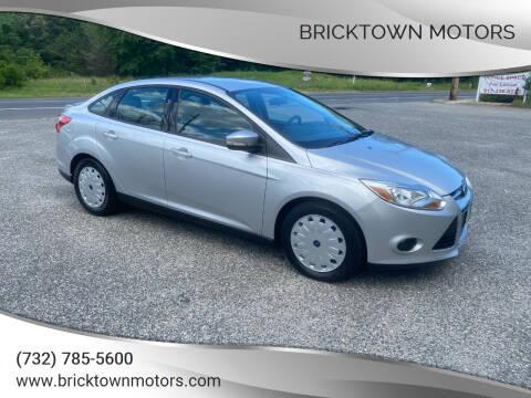 2013 Ford Focus for sale at Bricktown Motors in Brick NJ