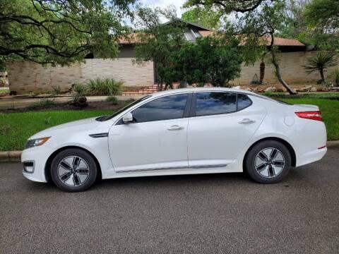 2013 Kia Optima Hybrid for sale at Progressive Auto Plex in San Antonio TX
