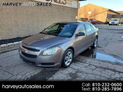 2012 Chevrolet Malibu for sale at Harvey Auto Sales, LLC. in Flint MI