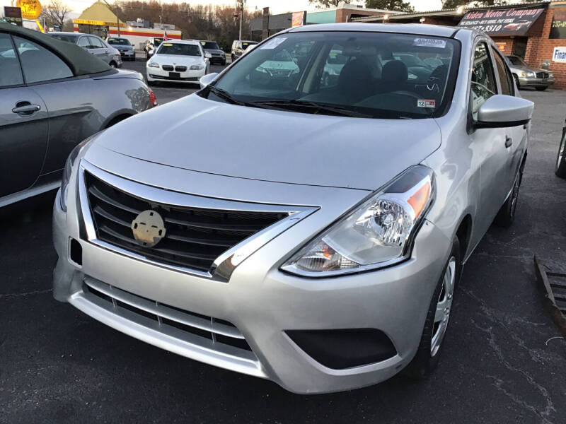 2016 Nissan Versa for sale at Aiden Motor Company in Portsmouth VA